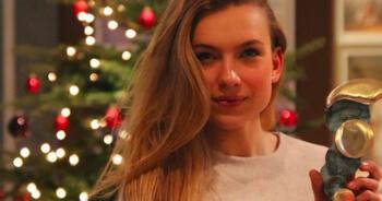Dit is Joy, 18-jarig toptalent en de nieuwe Nederlandse schaatsbabe
