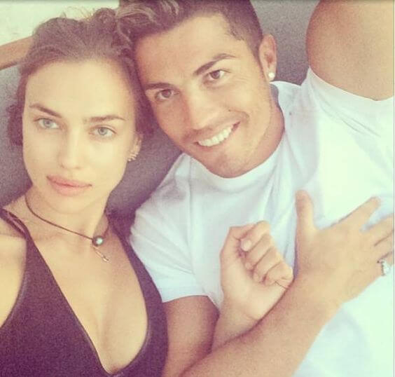 Irina Shayk en Cristiano Ronaldo