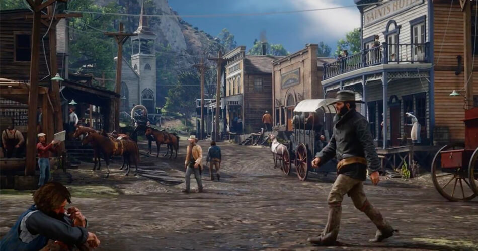Dit ene detail in de Red Dead Redemption 2-trailer maakt iedereen gek