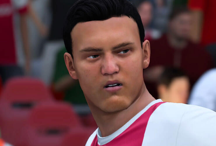 Justin Kluivert FIFA 18