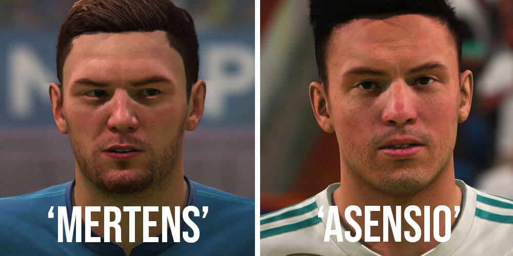 Mertens Asensio FIFA 18