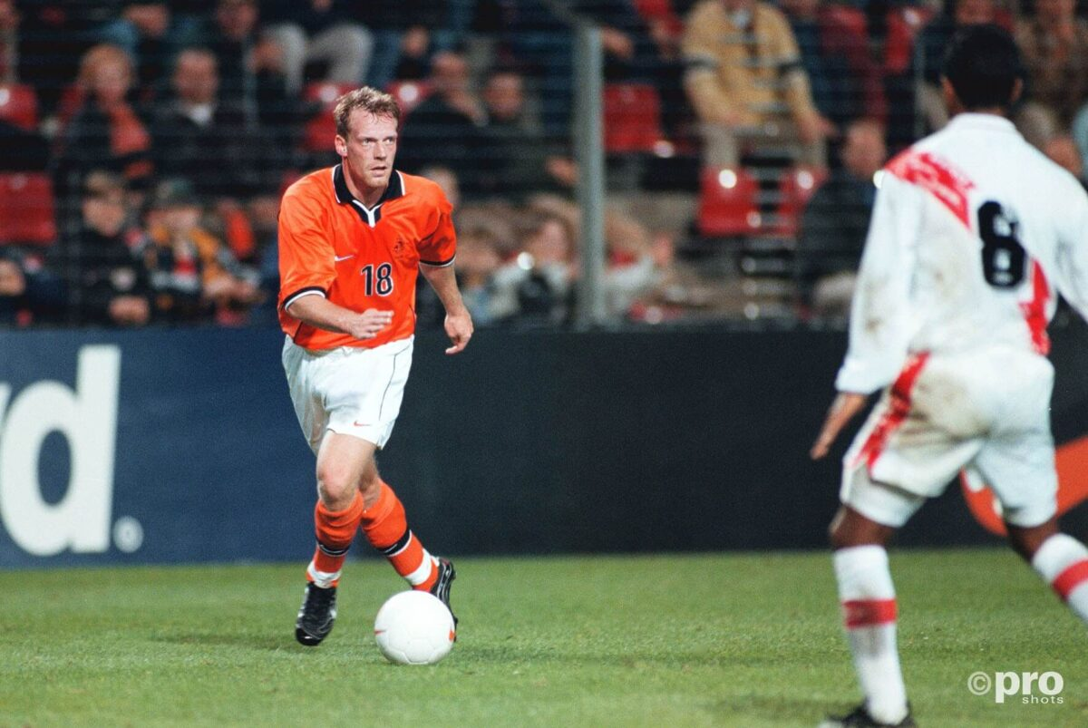 Peter van Vossen in actie voor Oranje