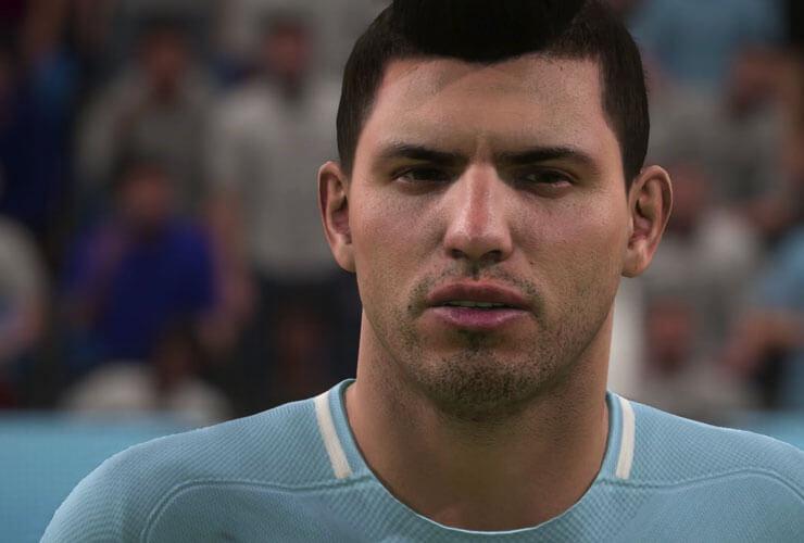 Sergio Aguero FIFA 18