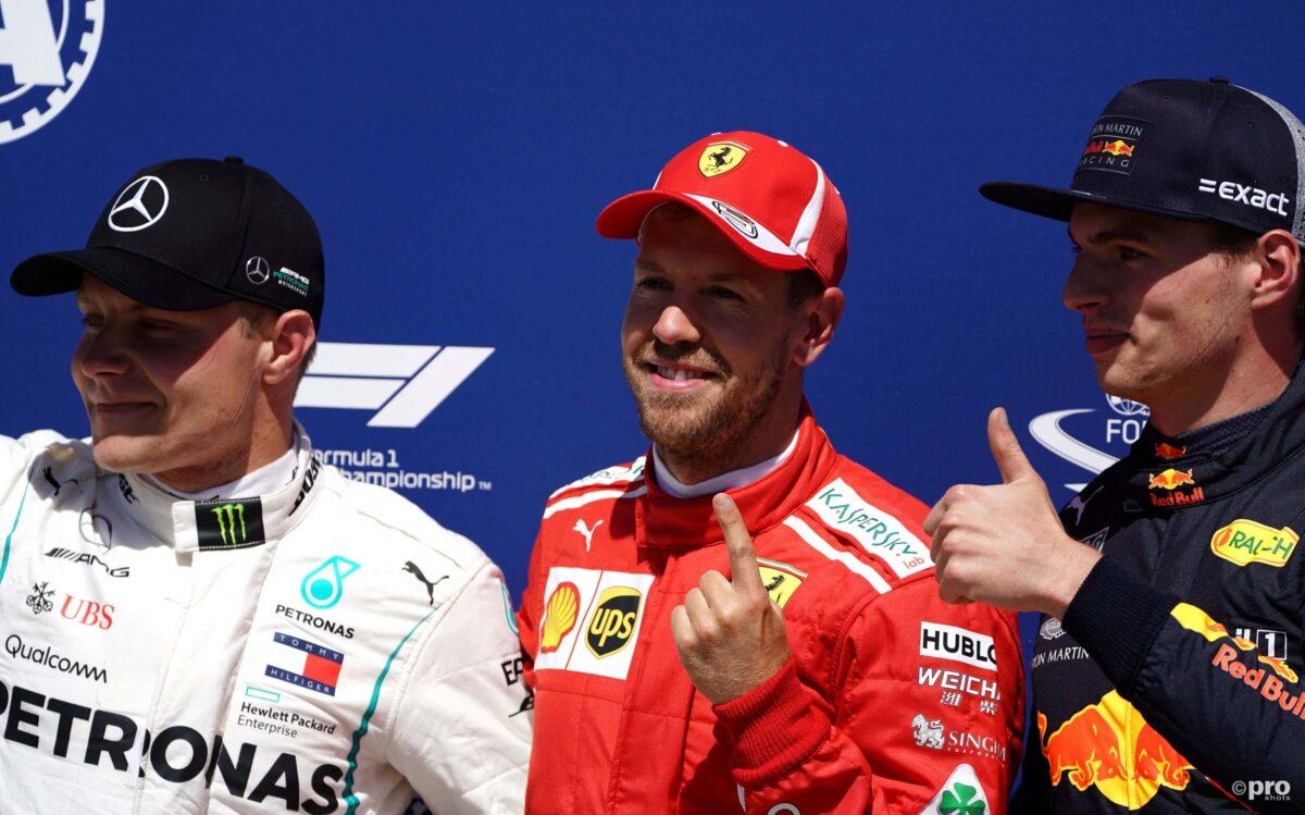 Verstappen neemt media en Vettel op de hak
