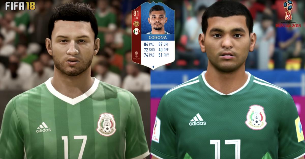 Corona FIFA 18 WK-update