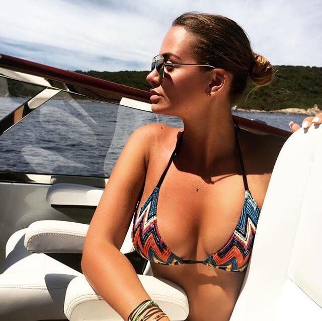 Sarah Mens is de vriendin van Romelu Lukaku