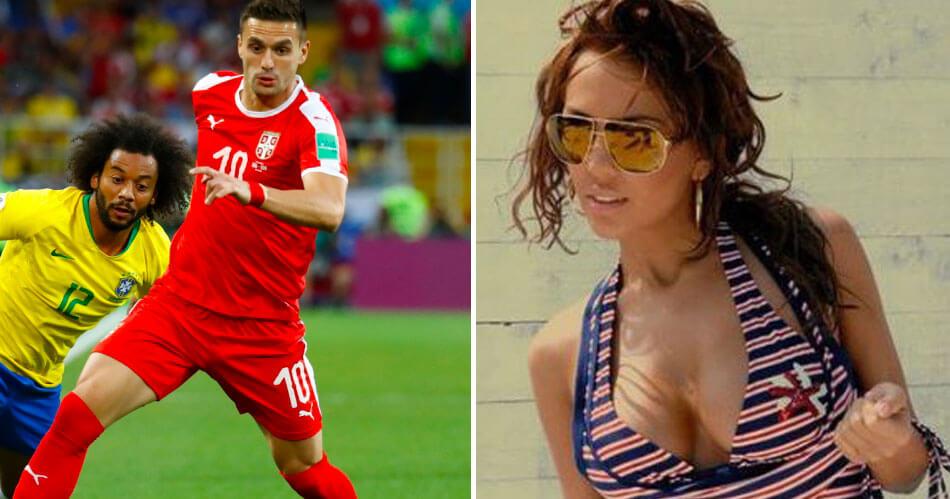 Dit is Dragana, de vriendin van Ajax-aanwinst Dusan Tadic