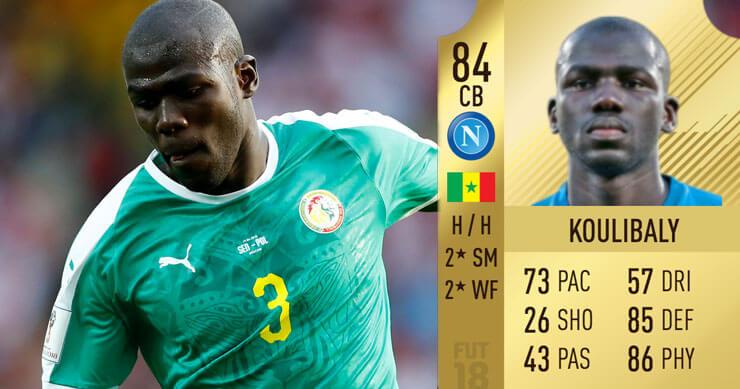 Kalidou Koulibaly lagere FIFA-rating