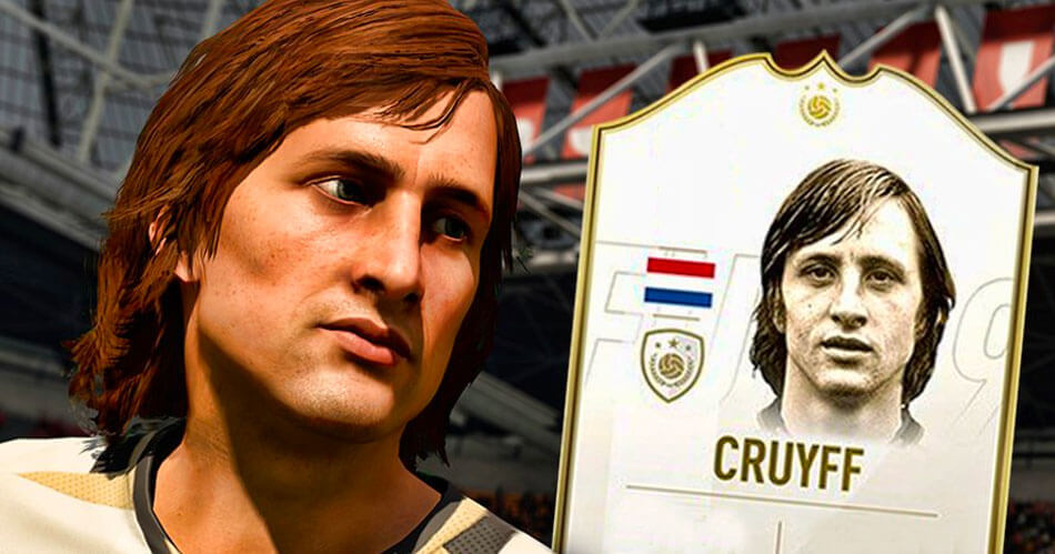 Johan Cruijff zit in FIFA 19
