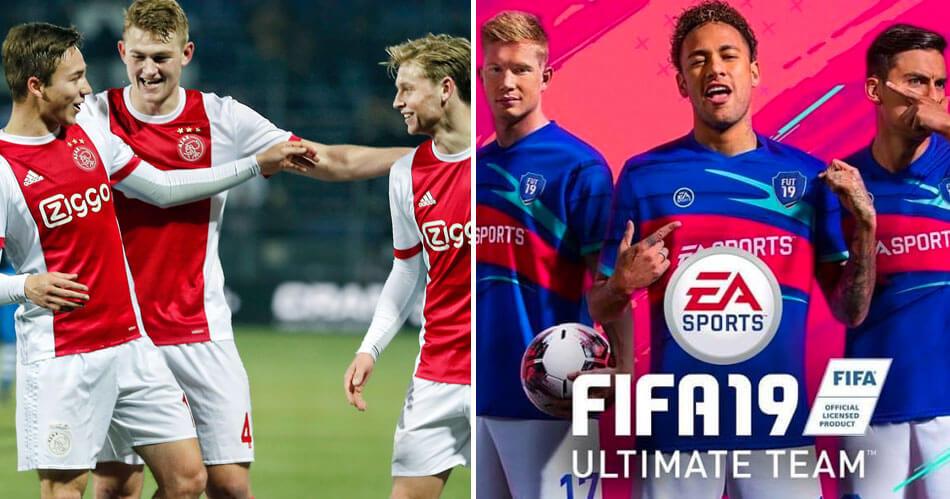 Wow! Dit supertalent van Ajax lijkt sprekend in FIFA 19