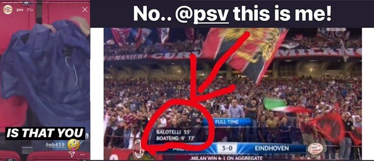 Balotelli dist PSV