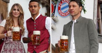 Bayern München viert Oktoberfest met chagrijnige kop