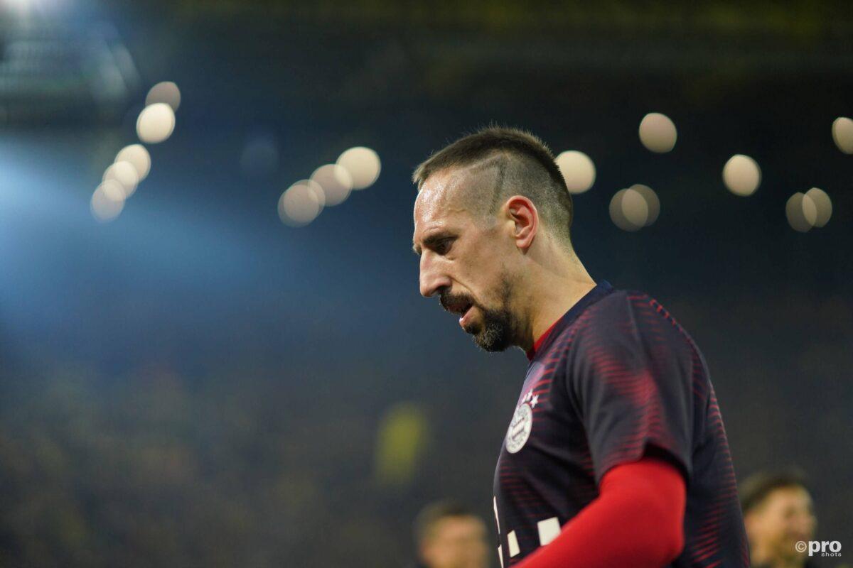 Wut. Ribery geeft journalist pak slaag