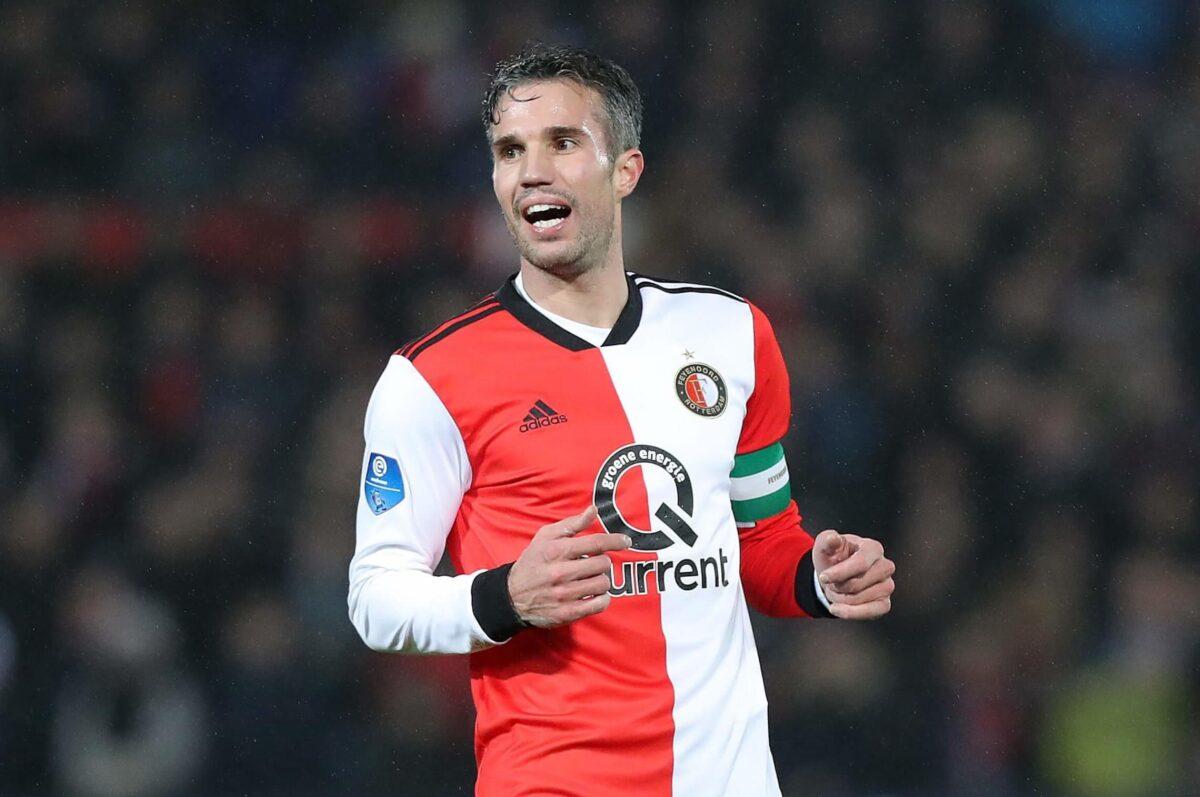 Van Persie duurste Nederlandse voetballer