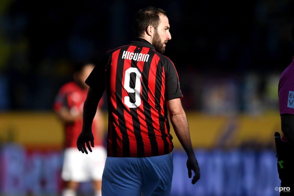 Higuain bij AC Milan
