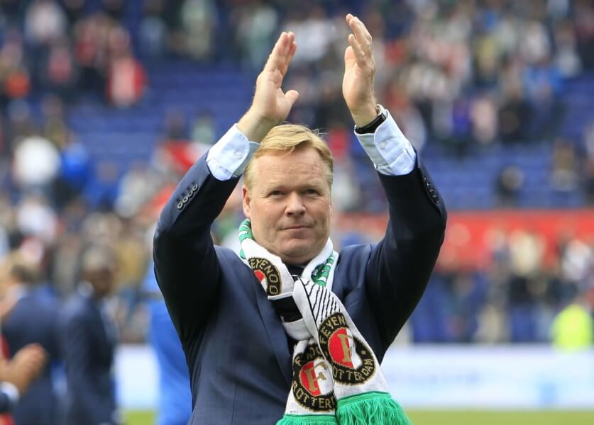 Ronald Koeman trainer van Feyenoord