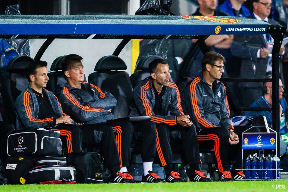 Van Gaal bij Manchester United
