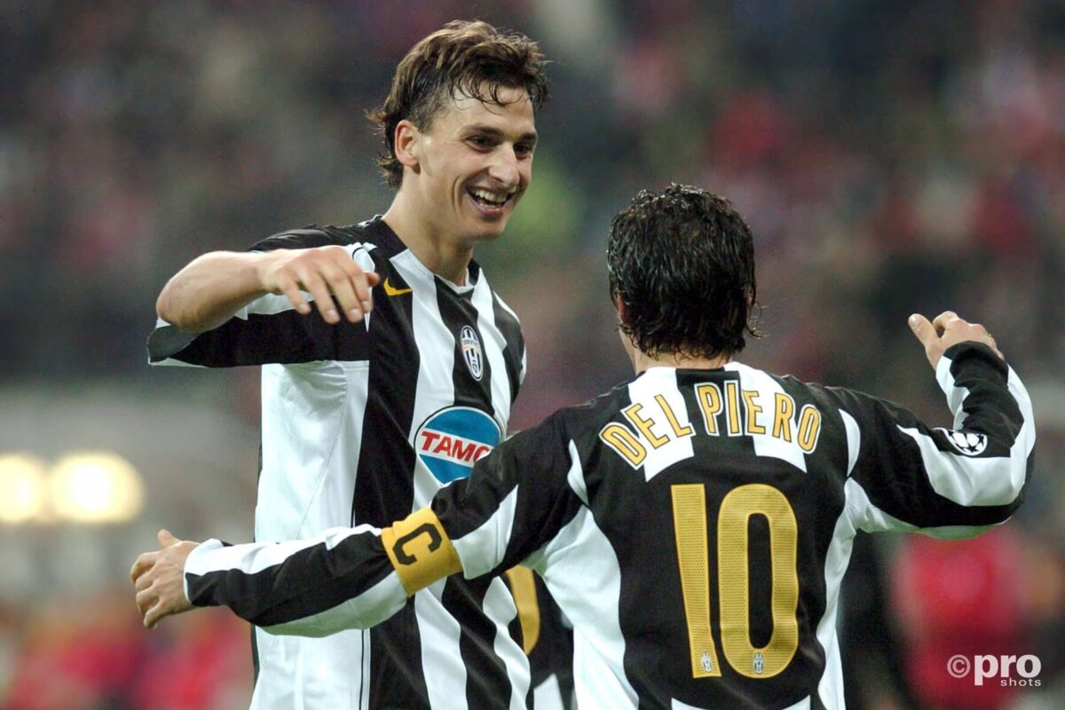 Zlatan bij Juventus