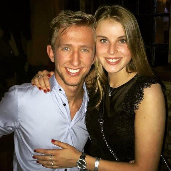 Claire Zuid is de vriendin van Michel Vlap