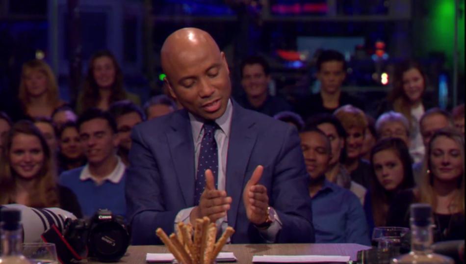 Humberto bij RTL Late Night