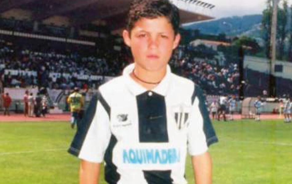 Cristiano Ronaldo 1997