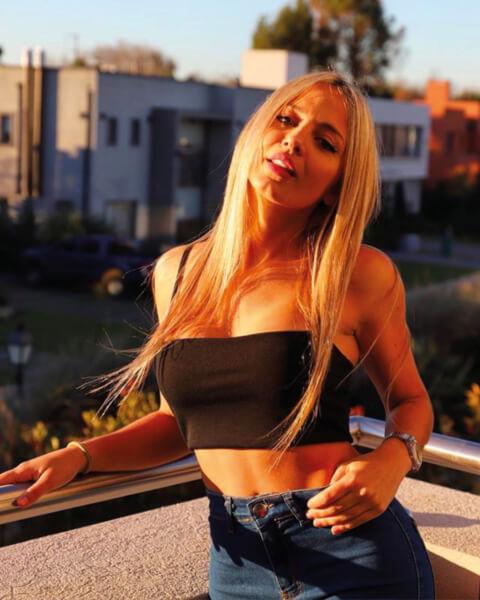 De vriendin van Tagliafico