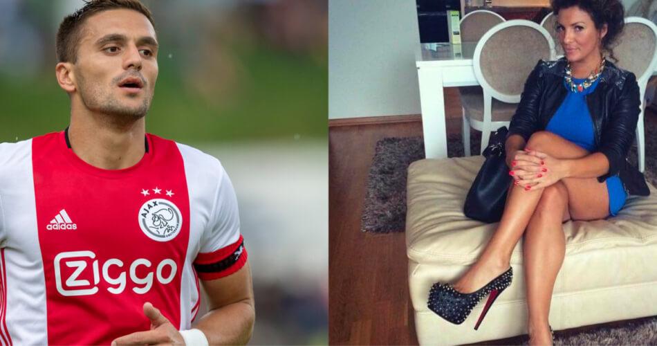 De vriendin van Dusan Tadic