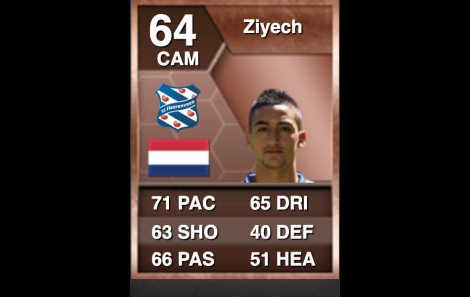 Eerste FIFA-kaart Hakim Ziyech