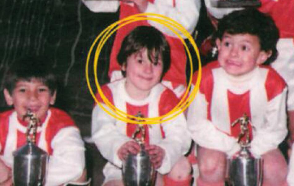 Lionel Messi in 1997