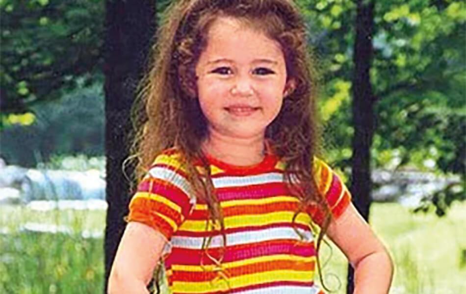 Miley Cyrus 1997