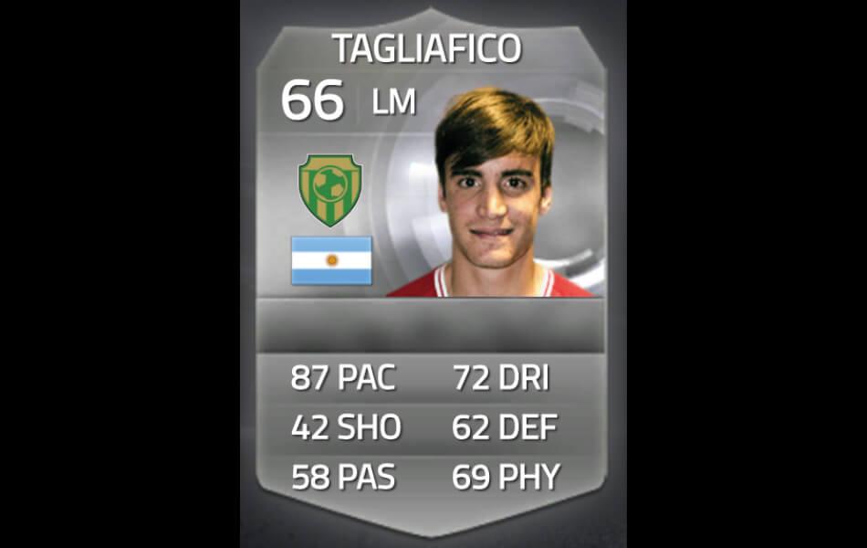 Eerste FIFA-kaart Nicolas Tagliafico