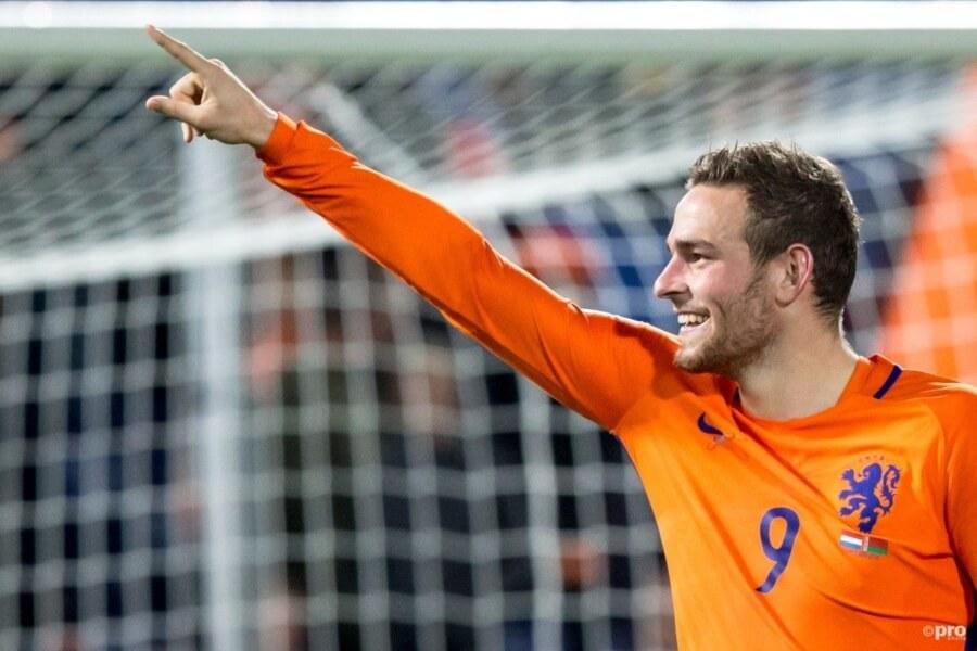 Vincent Janssen scoort voor Oranje