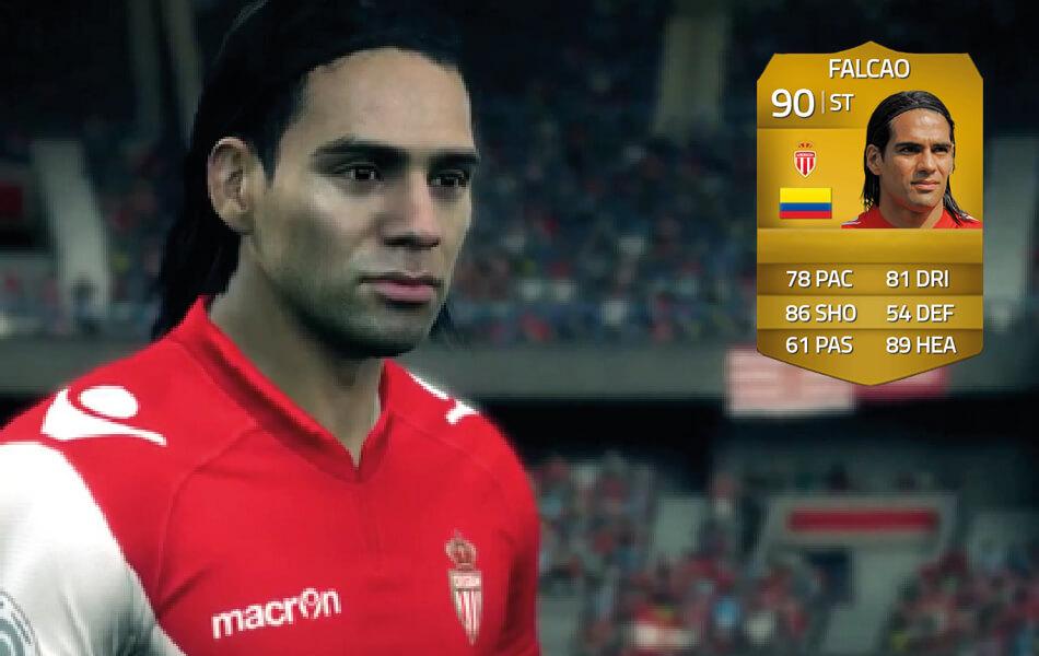 Falcao in FIFA 14