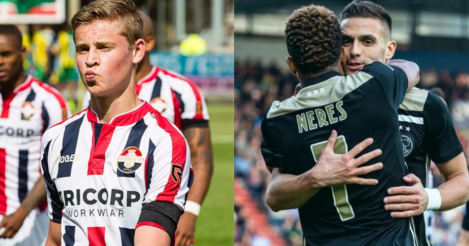 Deze quiz over Willem II – Ajax is zo makkelijk, dat één foutje schandalig is