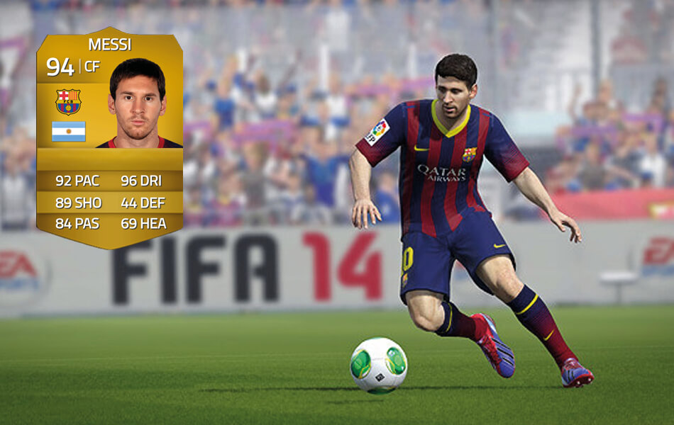 Messi in FIFA 14