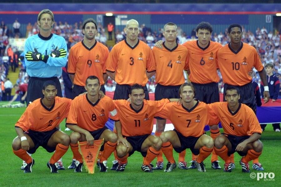 Nederlands elftal in 2002