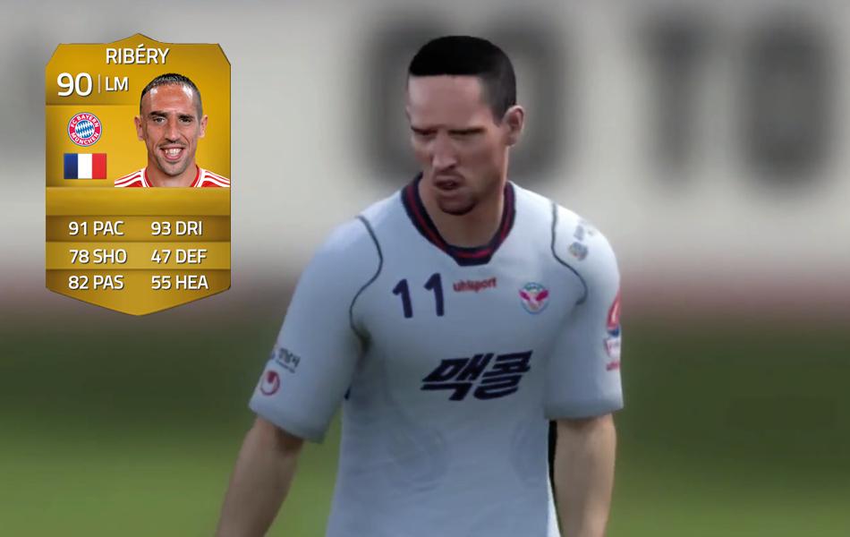 Ribery in FIFA 14