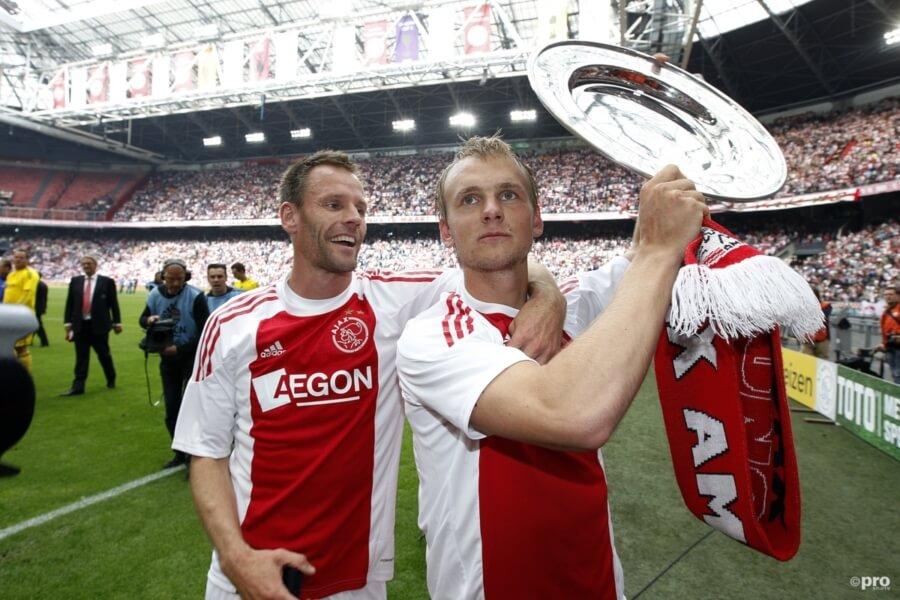 Siem de Jong voor Ajax