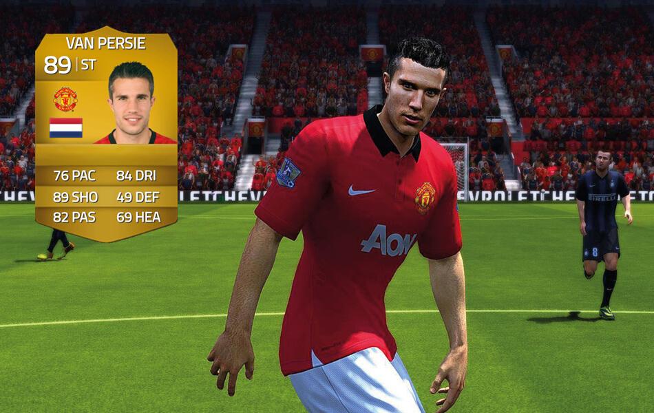 Van Persie in FIFA 14