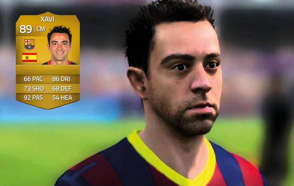 Xavi in FIFA 14