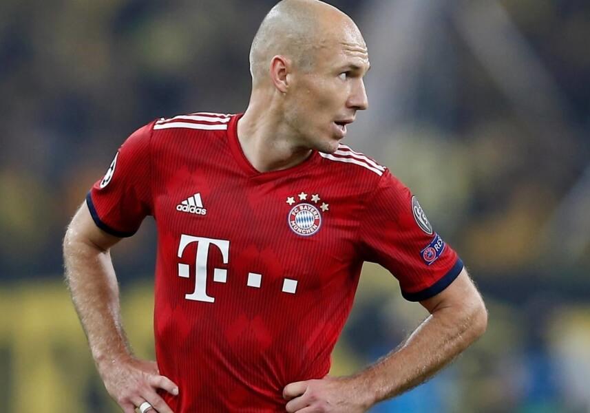Arjen Robben downgrade FIFA 20