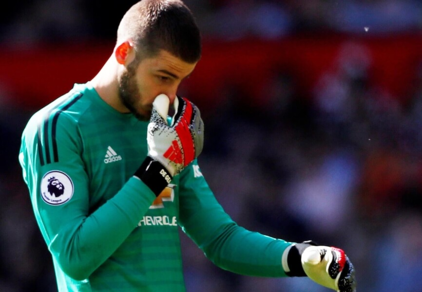 David de Gea downgrade FIFA 20