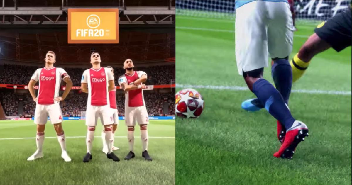 Deze 6 dingen zijn nog meer nieuw in FIFA 20, behalve het straatvoetbal
