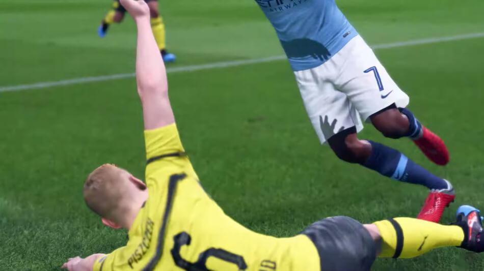 Nieuwe verdedigende acties FIFA 20