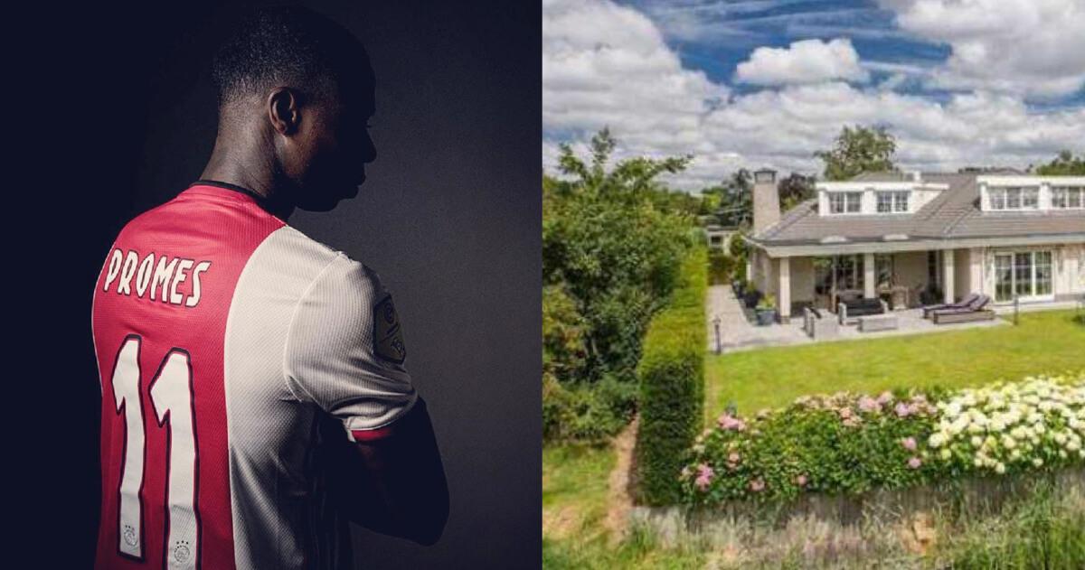 Binnenkijken in de villa van voormalig Ajax-aanvaller Promes