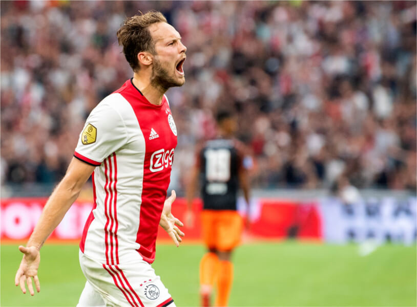Daley Blind is grootverdiener van Ajax
