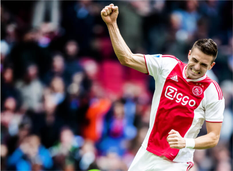 Dusan Tadic is de grootverdiener van Ajax