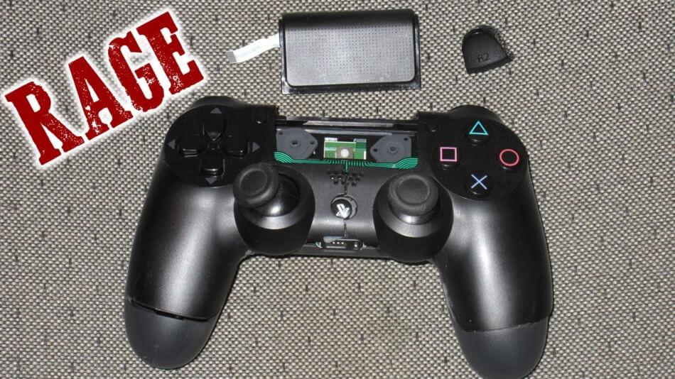 Gesloopte PS4 controller