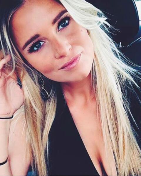 Roxanne is de vriendin van Mathieu van der Poel