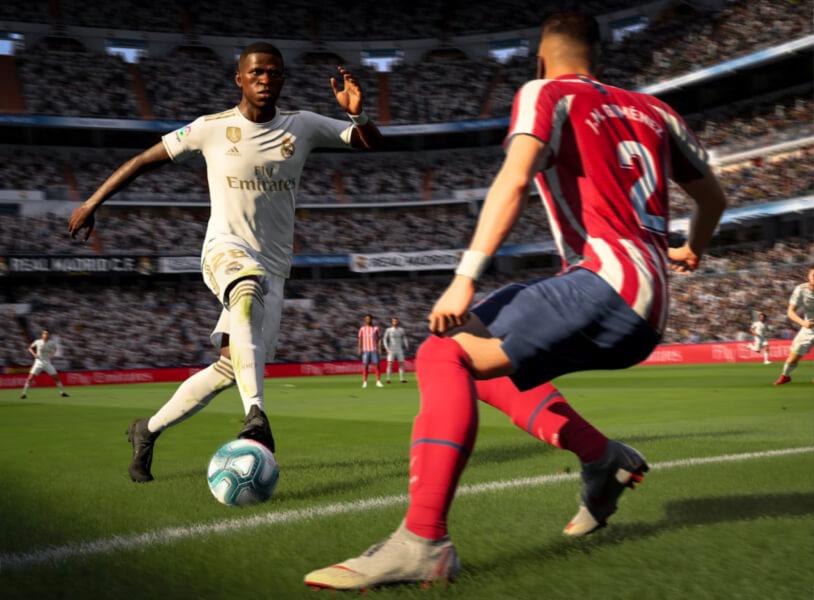 Speel op balbezit in FIFA 20